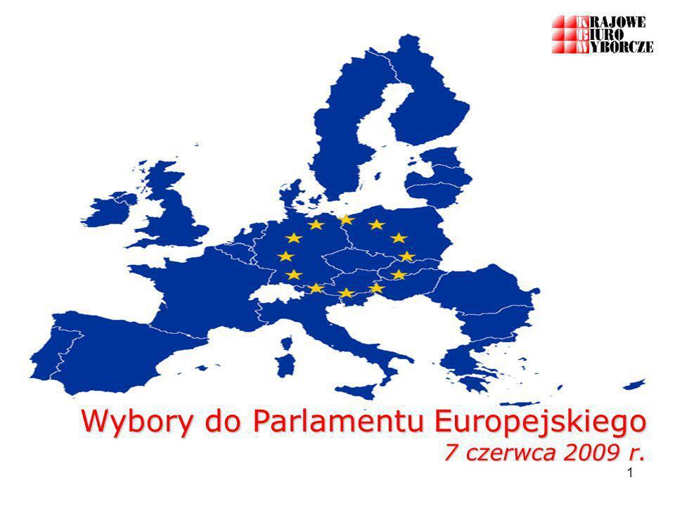 1 Wybory do Parlamentu Europejskiego 7 czerwca 2009 r.
