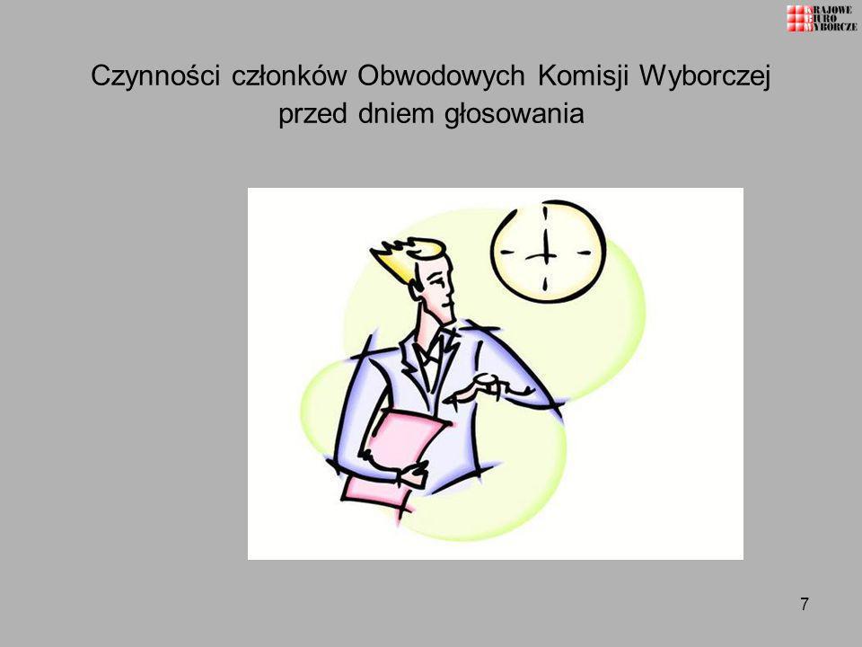 68 Sporządzenie protokołów głosowania w obwodzie z wykorzystaniem wspomagania informatycznego