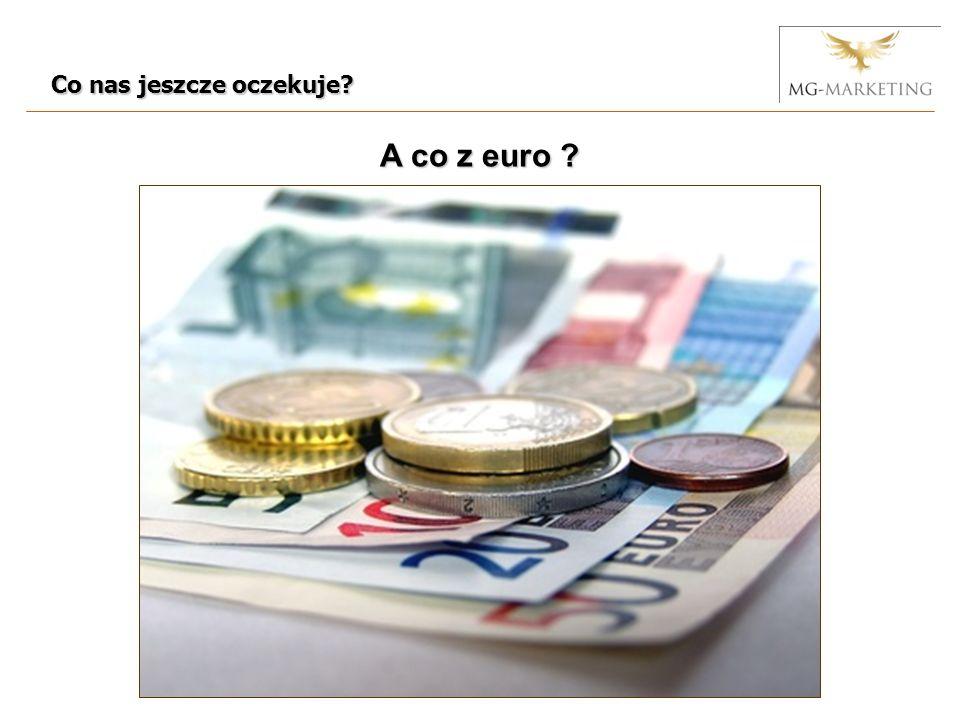 Co nas jeszcze oczekuje A co z euro
