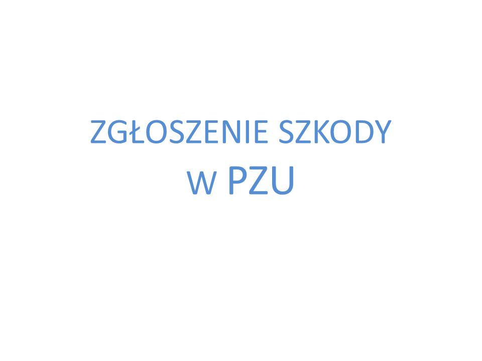 Proces przyjęcia zgłoszenia- telefonicznie na infolinii 801-102-102 lub 48 22 566 55 55 Klient Telecentrum Identyfikacja potrzeb/zapyt ania Klienta Rejestracja zgłoszenia zdarzenia Pracownik Telecentrum podaje Klientowi listę dokumentów oraz informuje Klienta o konieczności dostarczenia dokumentów poprzez internetowy status szkody faks na nr 22 555 51 06 e-mail kontakt@pzu.pl