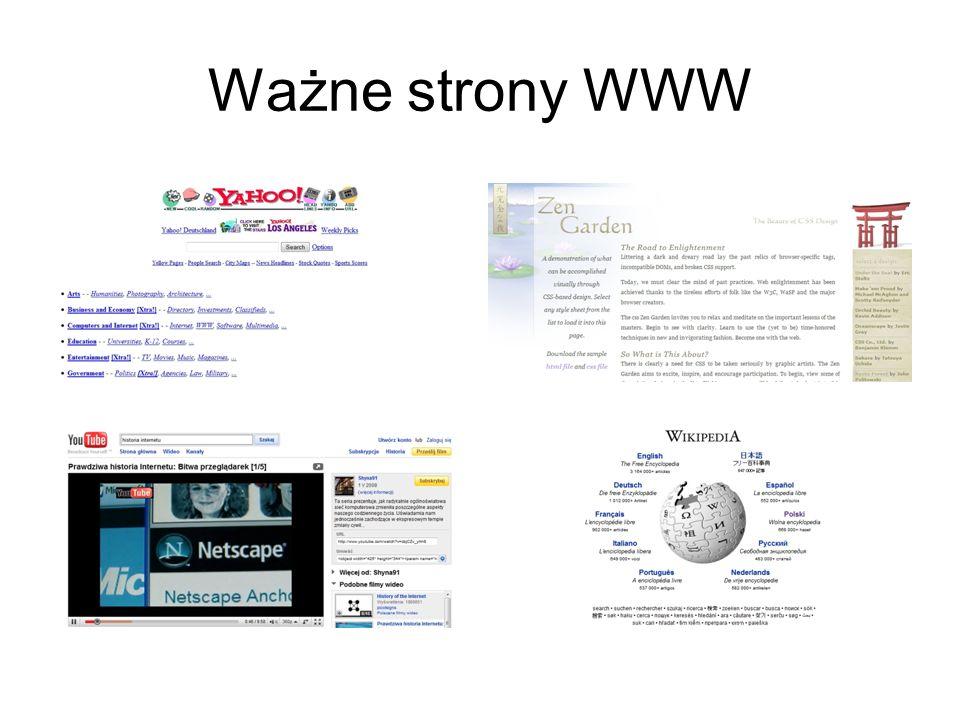 Ważne strony WWW