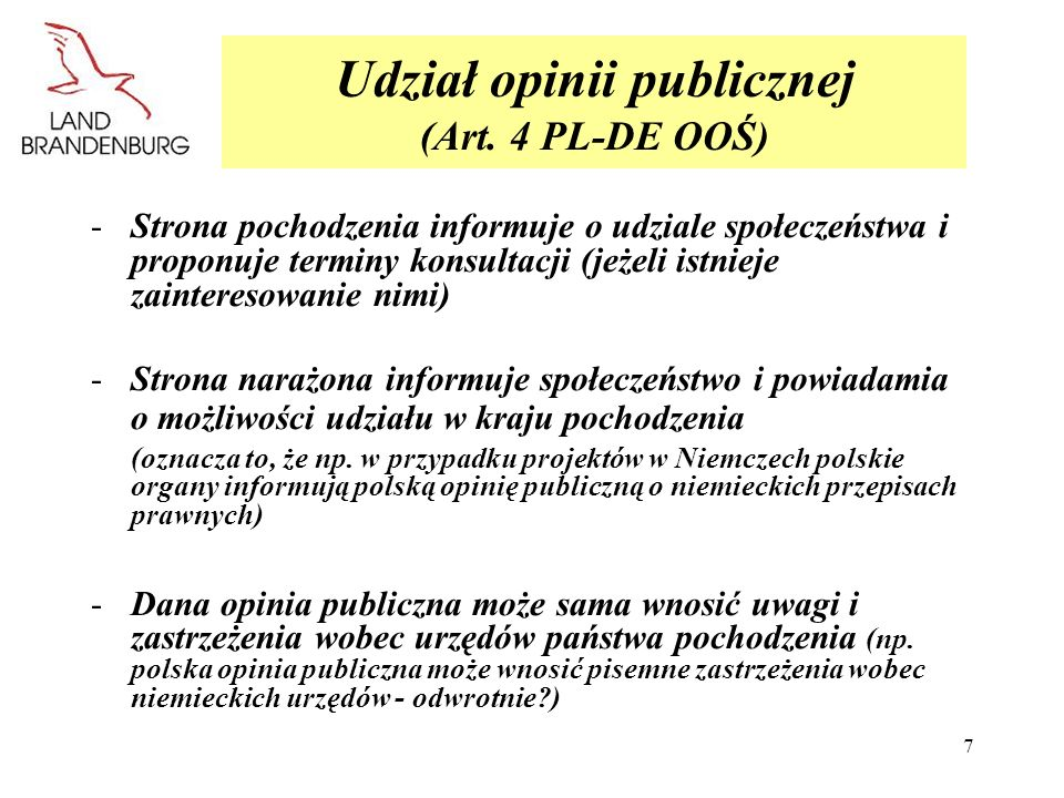 8 Stanowiska organów (Art.