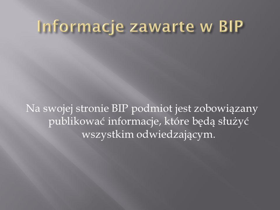 Biuletyn informacji Publicznej miasta Koszalin umożliwia pozyskanie informacji na temat przedsiębiorców zgłoszonych w ewidencji działalności gospodarczej.