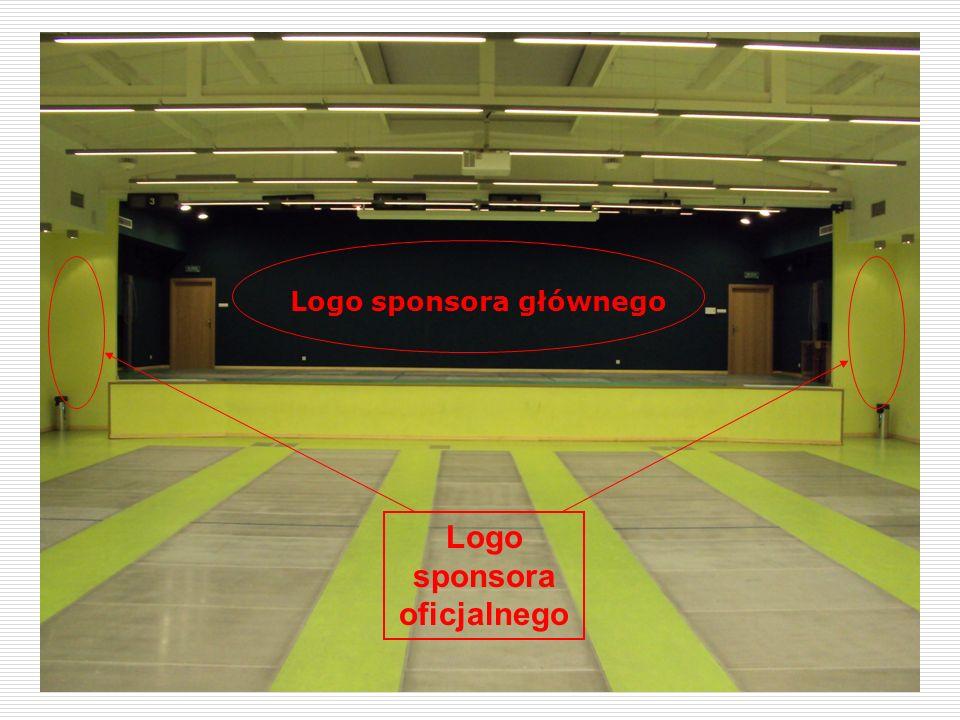 14 Sala miejsce na logo Logo sponsora oficjalnego Logo sponsora głównego