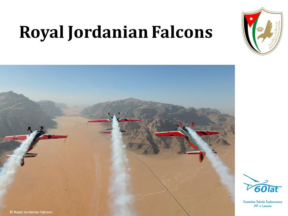 Royal Jordanian Falcons © Royal Jordanian Falcons