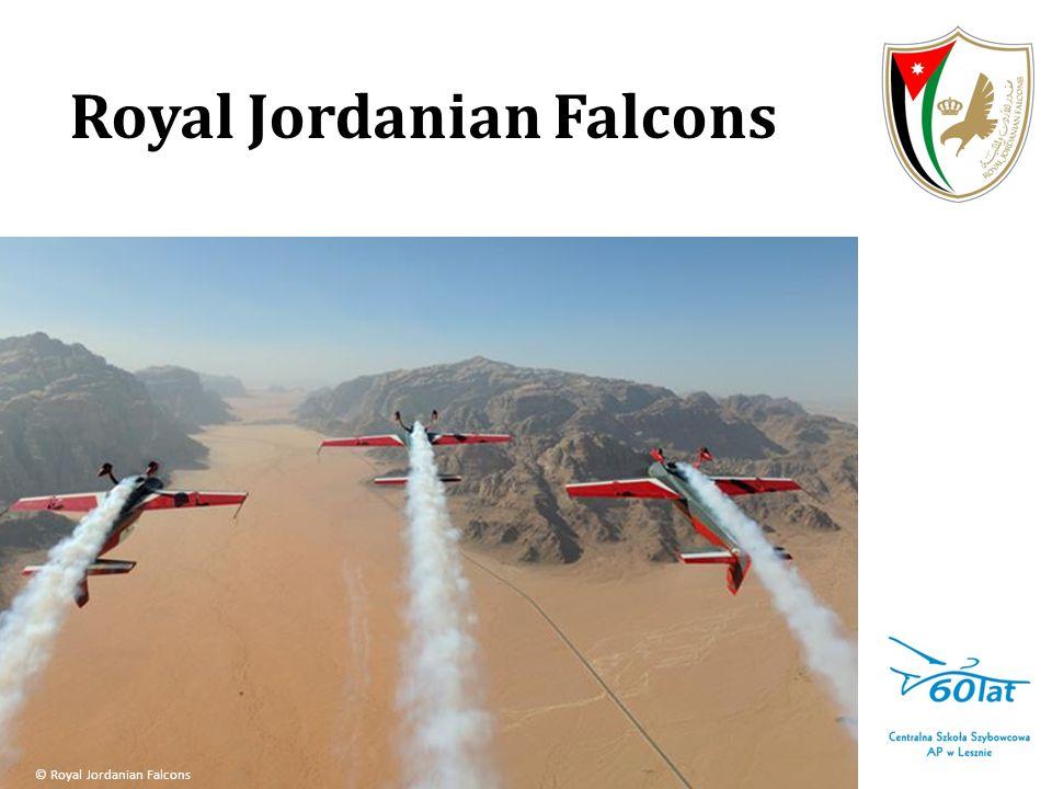 Royal Jordanian Falcons Po raz pierwszy jedna z najlepszych grup akrobacyjnych na świecie wystąpi w naszej części Europy.