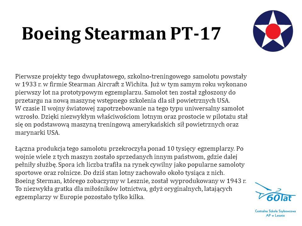 Pierwsze projekty tego dwupłatowego, szkolno-treningowego samolotu powstały w 1933 r. w firmie Stearman Aircraft z Wichita. Już w tym samym roku wykon