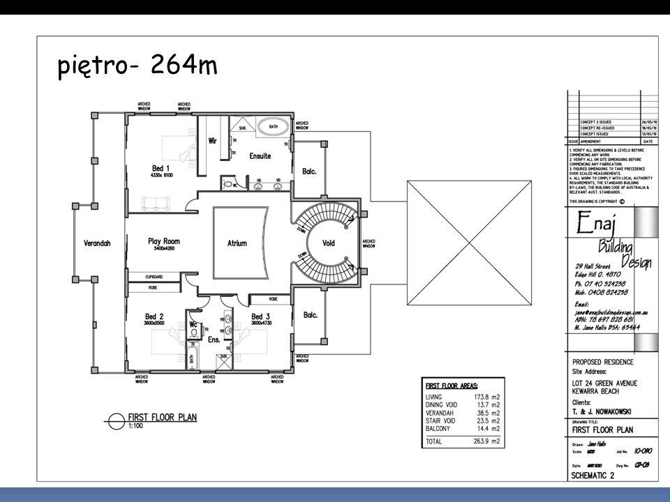 piętro- 264m