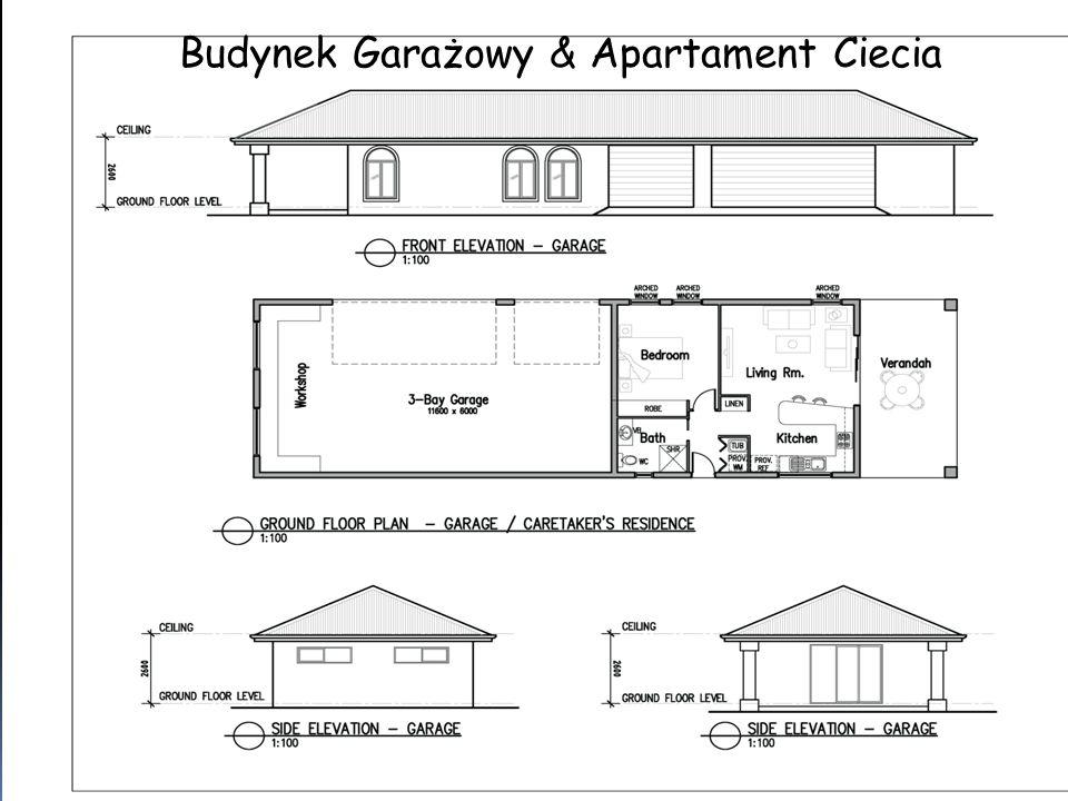 Budynek Garażowy & Apartament Ciecia