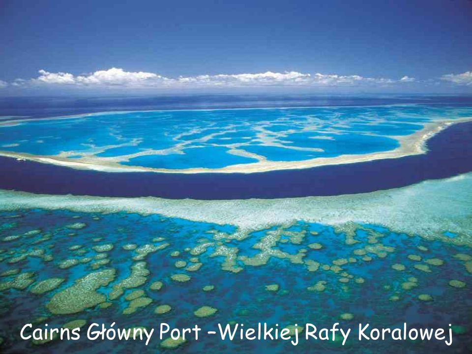 Cairns- gdzie rafa spotyka lasy tropikalne