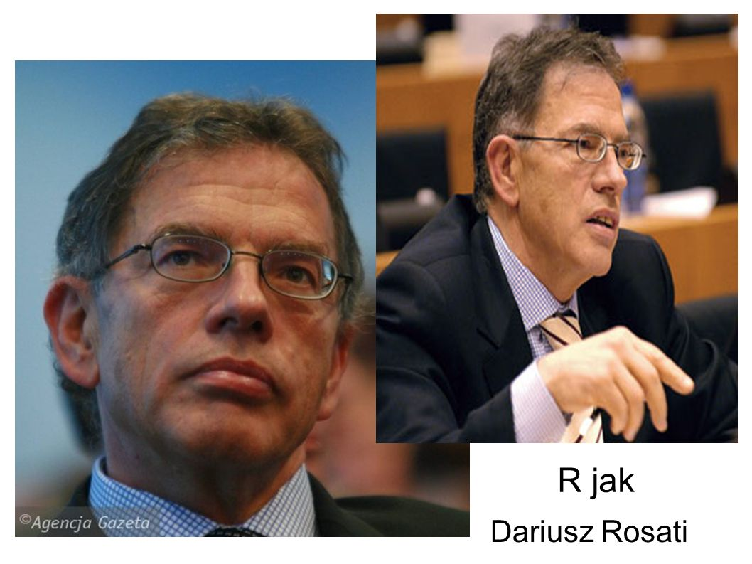 R jak Dariusz Rosati