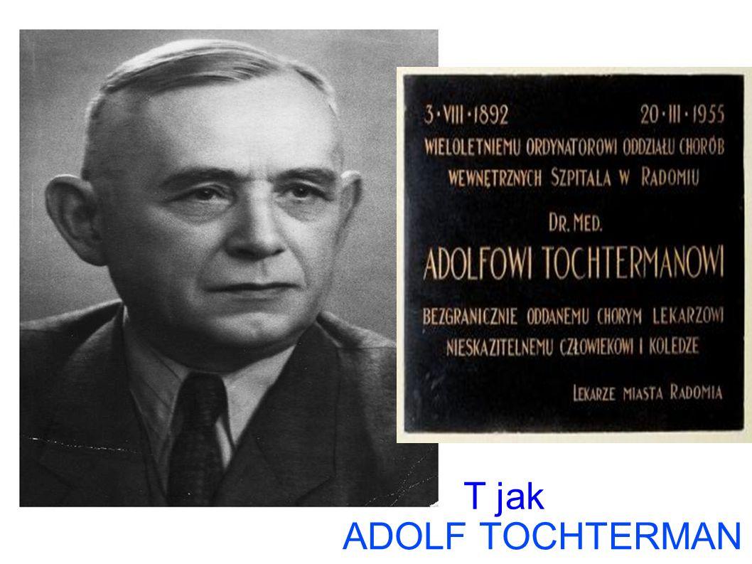ADOLF TOCHTERMAN T jak