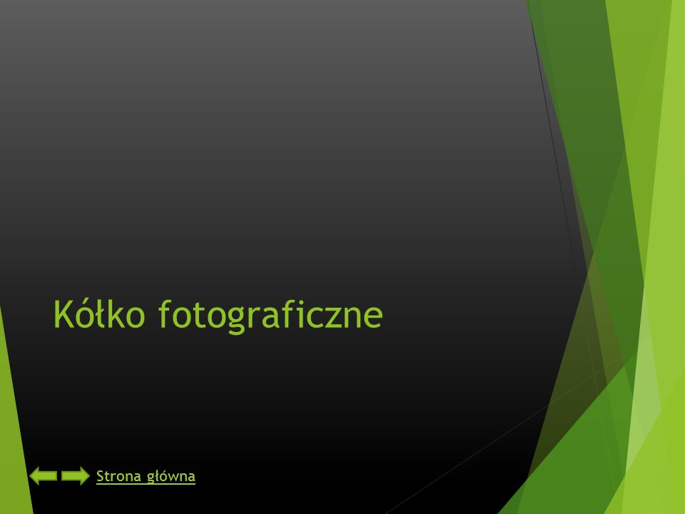Kółko fotograficzne Strona główna