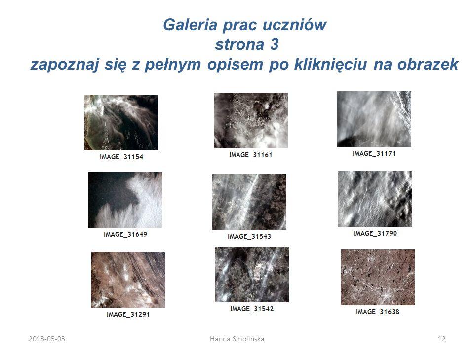 Galeria prac uczniów strona 3 zapoznaj się z pełnym opisem po kliknięciu na obrazek 2013-05-0312Hanna Smolińska
