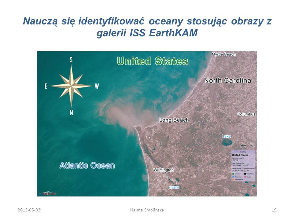 Nauczą się identyfikować oceany stosując obrazy z galerii ISS EarthKAM 2013-05-0319Hanna Smolińska