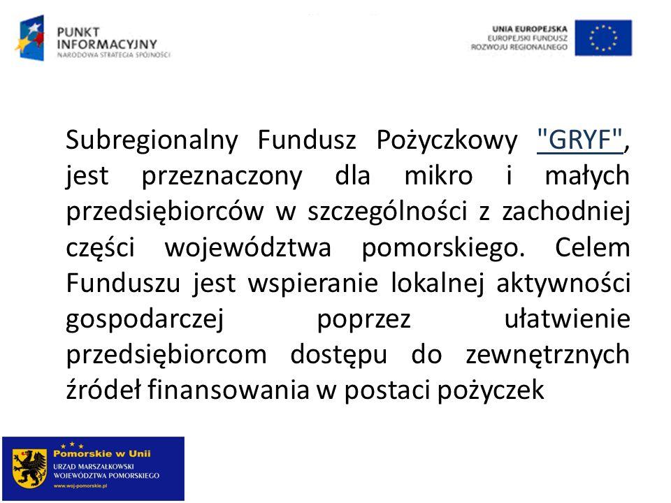 Subregionalny Fundusz Pożyczkowy