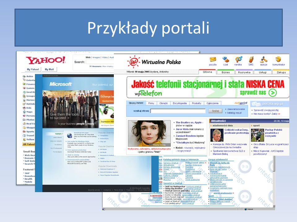 Przykłady portali