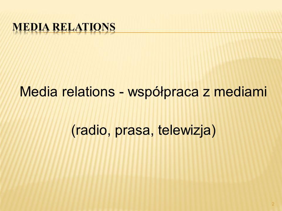 każda informacja przesłana do mediów powinna zawierać informację wspierającą wizerunek firmy wszystkie dokumenty firmy to nośnik jej kultury placówki administracyjno – państwowe mają obowiązek przesyłania regularnie informacji do mediów 3