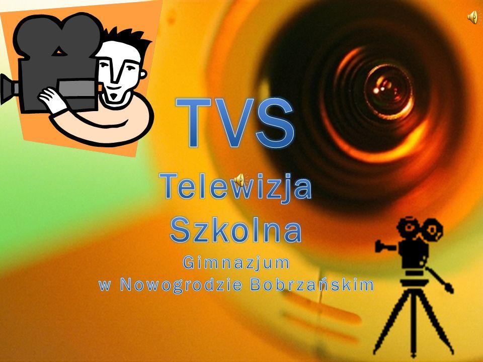 W gimnazjum kontynuujemy działalność szkolnej telewizji.