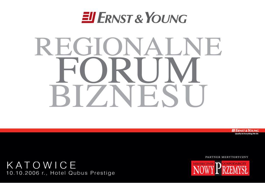 Regionalne Forum Biznesu 10 października 2006 r. Katowice - Strona 1
