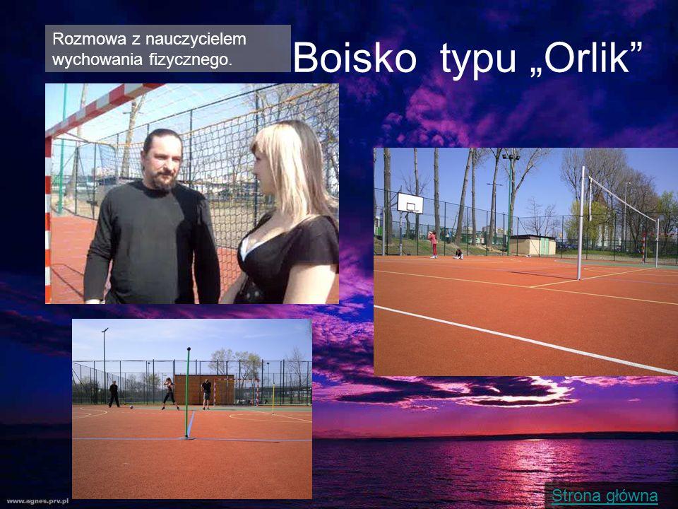 Strona główna Boisko typu Orlik Rozmowa z nauczycielem wychowania fizycznego.