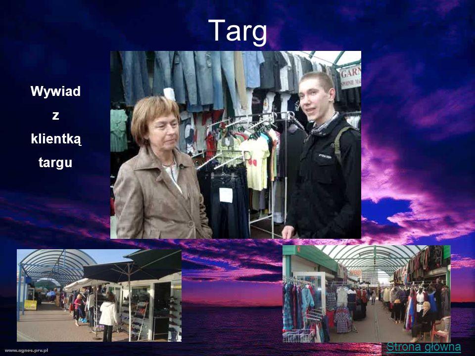 Strona główna Targ Wywiad z klientką targu