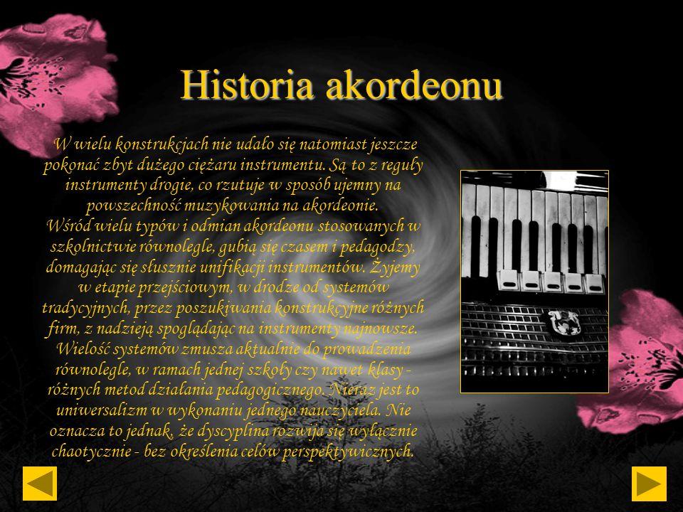 Historia akordeonu Słowo