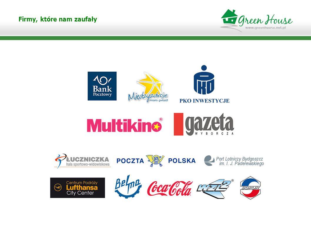 Zapraszamy do współpracy Green House Bydgoszcz ul.