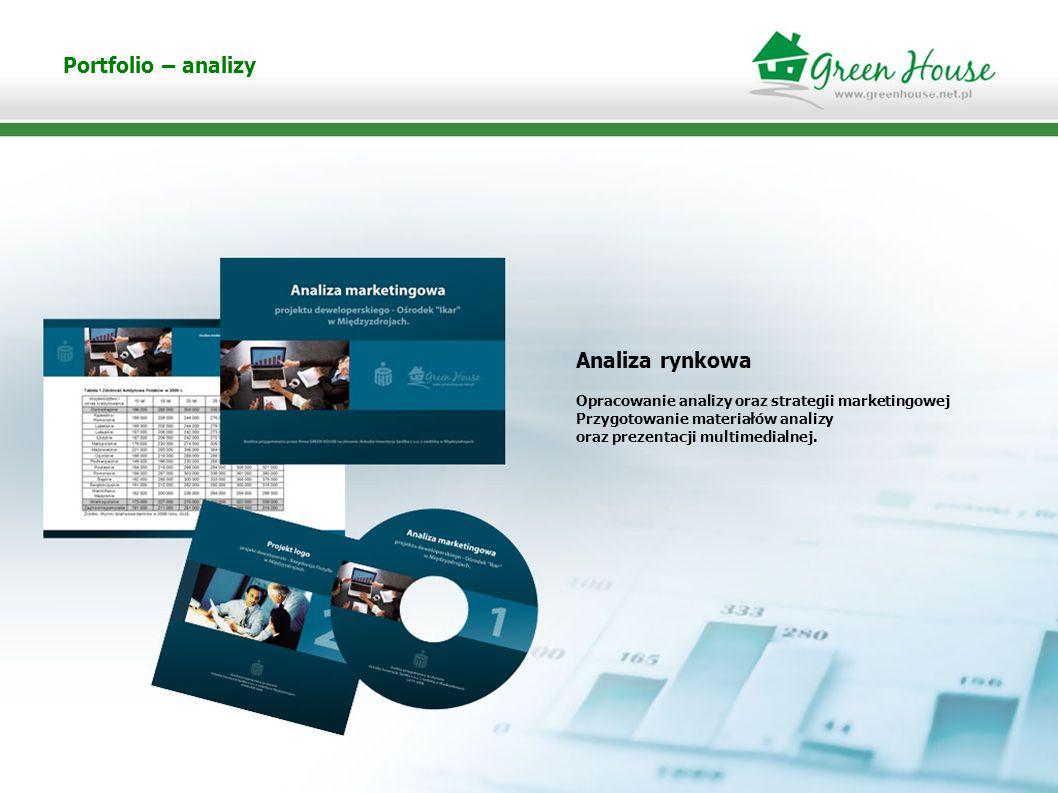 Portfolio –strategie marketingowe Realizacja Strategii marketingowych Opracowanie corporate identity Inwestycji deweloperskiej FLOTYLLA: logotypu, reklamy prasowe, Reklama outdoorowa, foldery i katalogi.