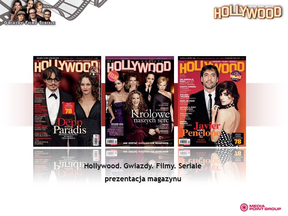 Hollywood. Gwiazdy. Filmy. Seriale prezentacja magazynu