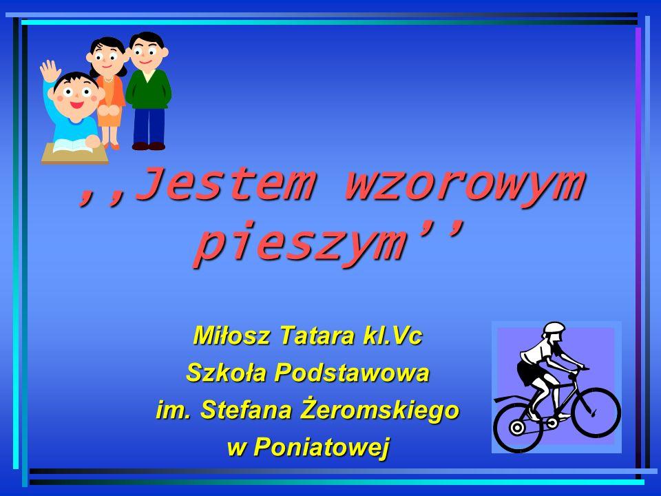 III Wojewódzki Konkurs Szkolny pt.,,Bądź bezpieczny na drodze