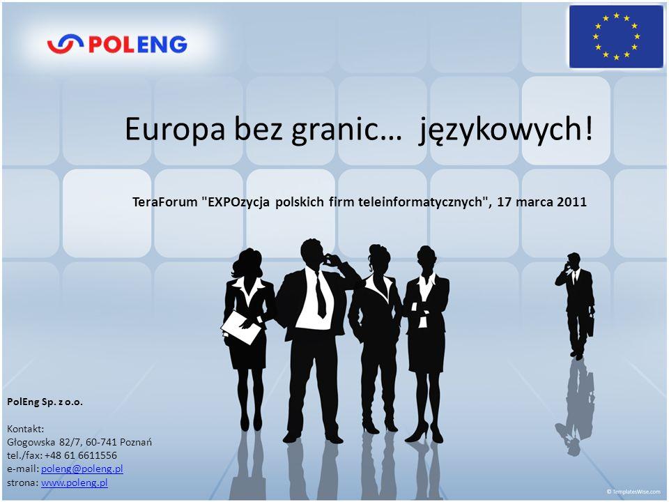 Europa bez granic… PolEng Sp. z o.o.