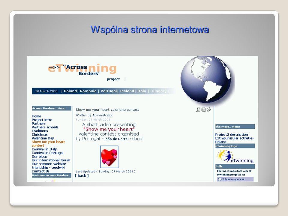 Wspólna strona internetowa