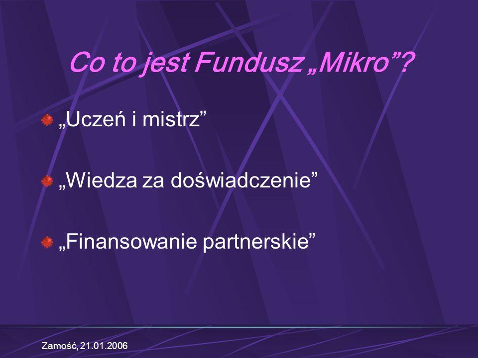Zamość, 21.01.2006 Krok 1: Urząd Miasta Po co tam idziemy.