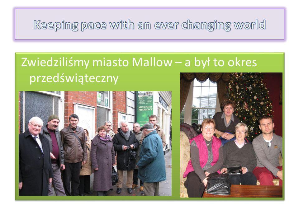 Zwiedziliśmy miasto Mallow – a był to okres przedświąteczny Zwiedziliśmy miasto Mallow – a był to okres przedświąteczny