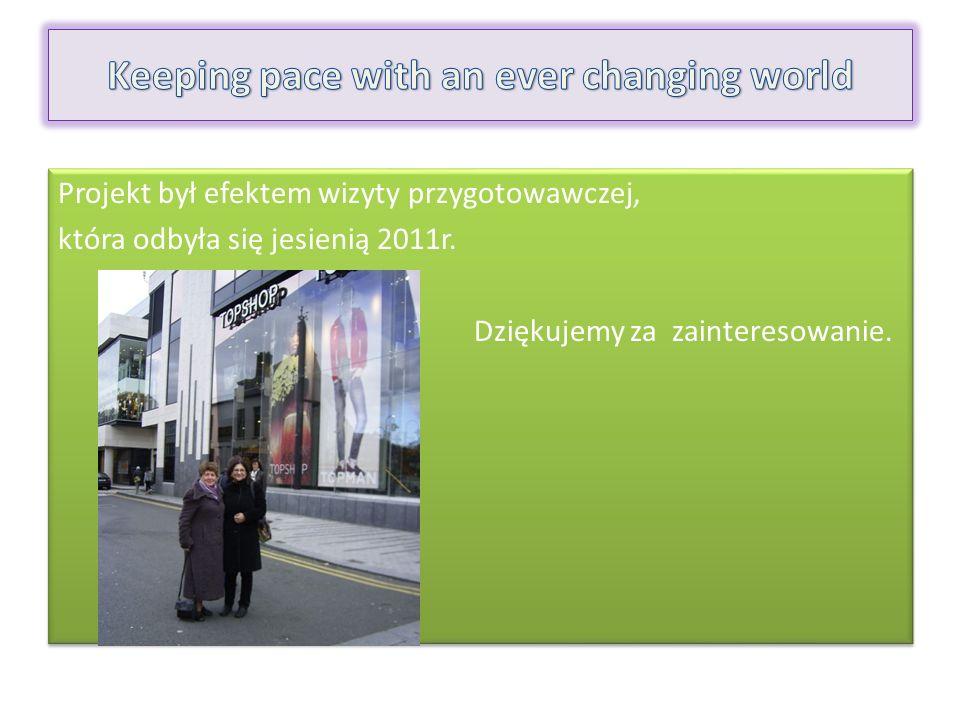 Projekt był efektem wizyty przygotowawczej, która odbyła się jesienią 2011r.