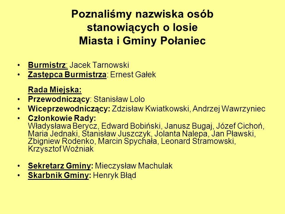 Tematyka minikonferencji obejmowała wiele zagadnień, np.: historia gminy Połaniec, zadania Urzędu Miasta i Gminy Połaniec, rola urzędnika w demokratycznym państwie, miasta partnerskie.