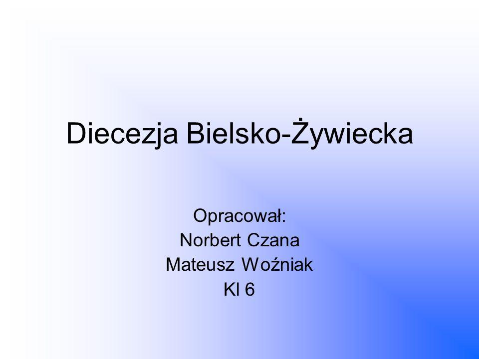 Diecezja Bielsko-Żywiecka Opracował: Norbert Czana Mateusz Woźniak Kl 6
