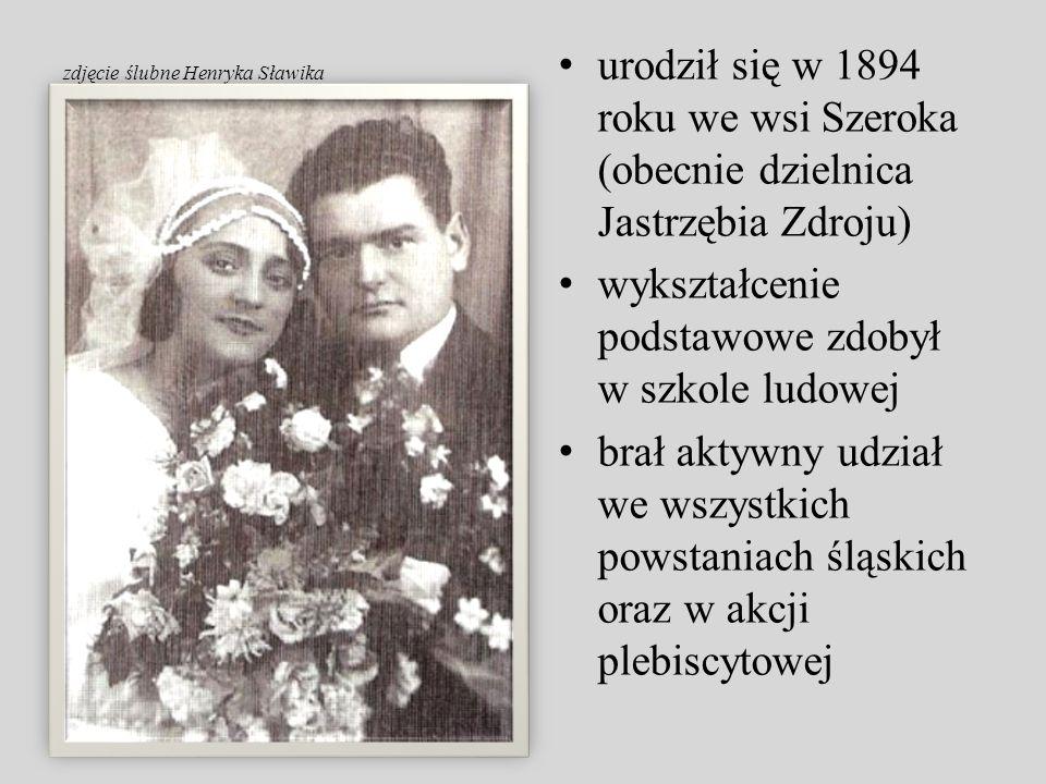 urodził się w 1894 roku we wsi Szeroka (obecnie dzielnica Jastrzębia Zdroju) wykształcenie podstawowe zdobył w szkole ludowej brał aktywny udział we w