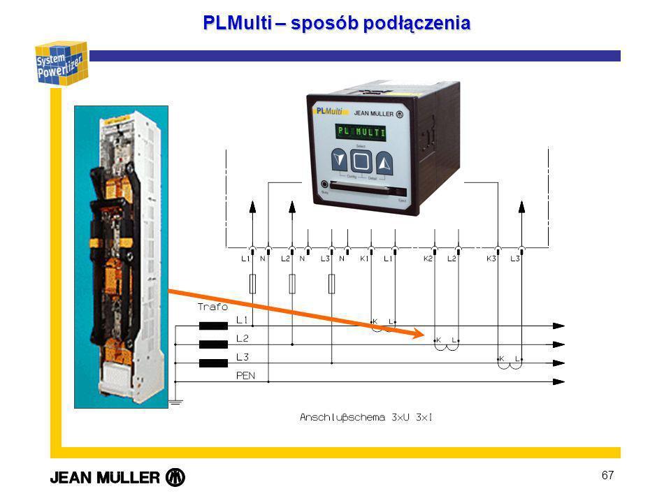 67 PLMulti – sposób podłączenia