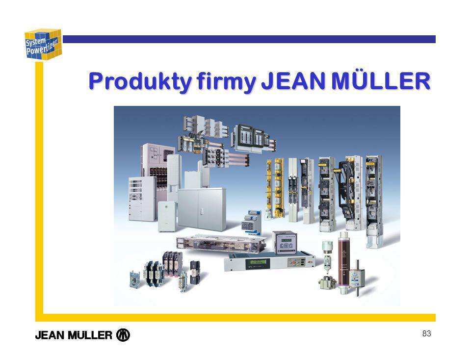 83 Produkty firmy JEAN MÜLLER