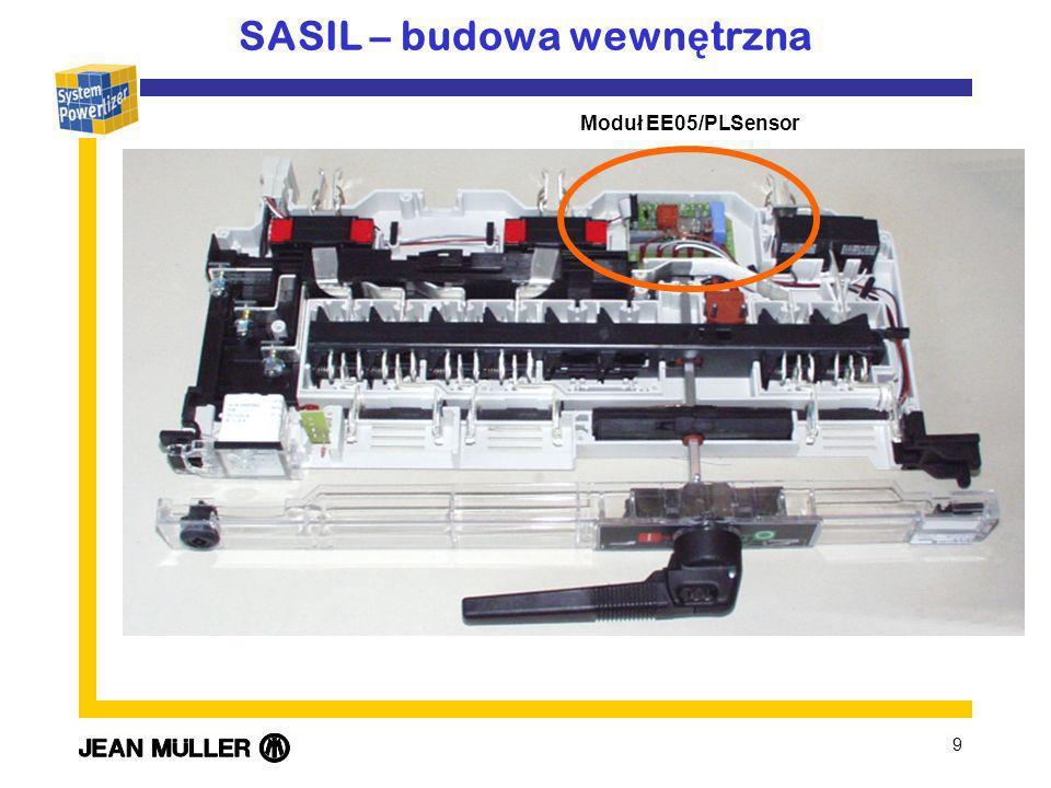 9 SASIL – budowa wewn ę trzna Moduł EE05/PLSensor