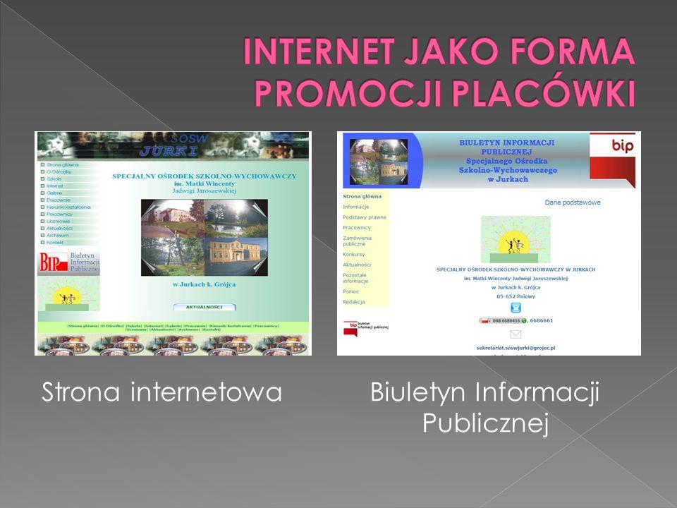 Strona internetowaBiuletyn Informacji Publicznej