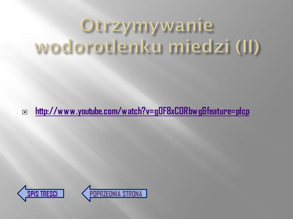 http://www.youtube.com/watch?v=vosCX7egkwE&feature=plcp SPIS TRESCIPOPRZEDNIA STRONA