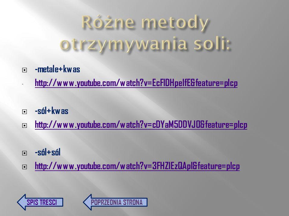 http://www.youtube.com/watch?v=g0F8xCORbwg&feature=plcp SPIS TRESCIPOPRZEDNIA STRONA