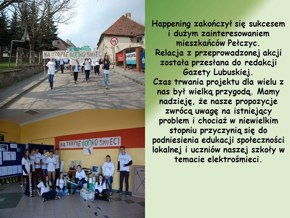 Happening zakończył się sukcesem i dużym zainteresowaniem mieszkańców Pełczyc.