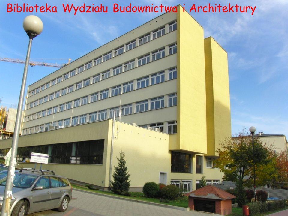 Biblioteka Wydziału Budownictwa i Architektury