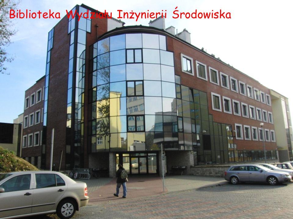 Biblioteka Wydziału Inżynierii Środowiska