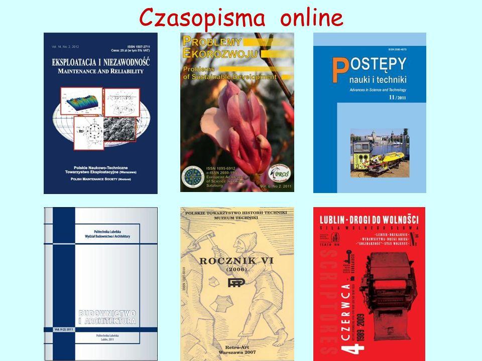 Czasopisma online