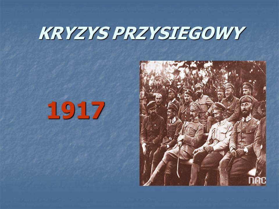 KRYZYS PRZYSIEGOWY 1917